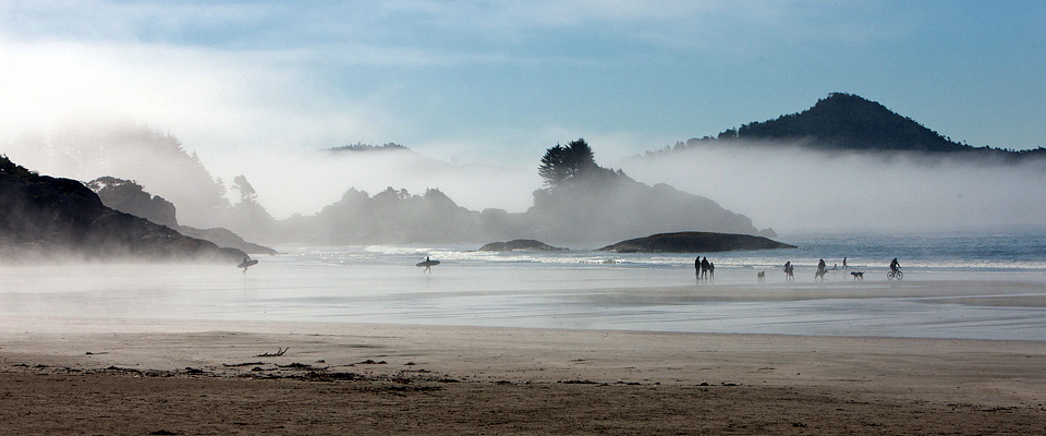 Experience Chesterman Beach Rush Hour - Tofino Accommodation
