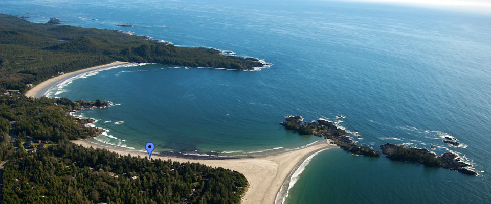 Chesterman Beach is voted #1 Beach in Canada - Tofino Accommodation