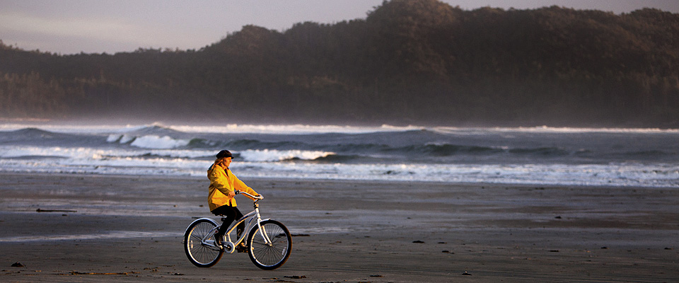 Bike the Beach! - Tofino Accommodation