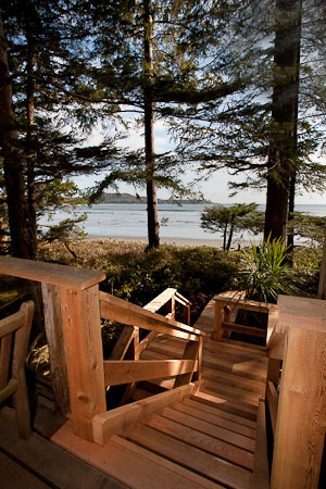 Tofino Accommodation - Lookout Deck